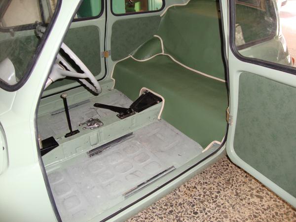 Interni Fiat 500 N Del 1957 1957 Fiat 500 N Upholstery La Tua