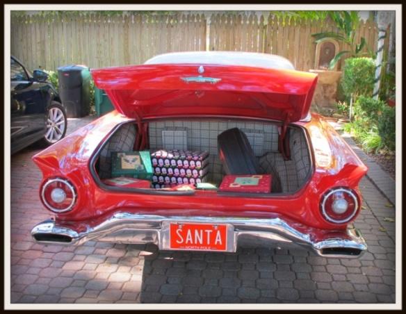 La macchina di babbo natale