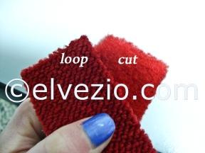 loop cut carpet Fiat 1200-1500 Spider and 1600 Osca