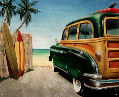 auto-d-epoca-sulla-spiaggia