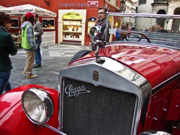 auto Praga modello Alfa 1929