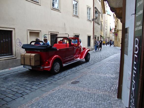auto a Praga