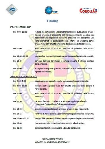 programma raduno fiat 500 milazzo giugno 2014