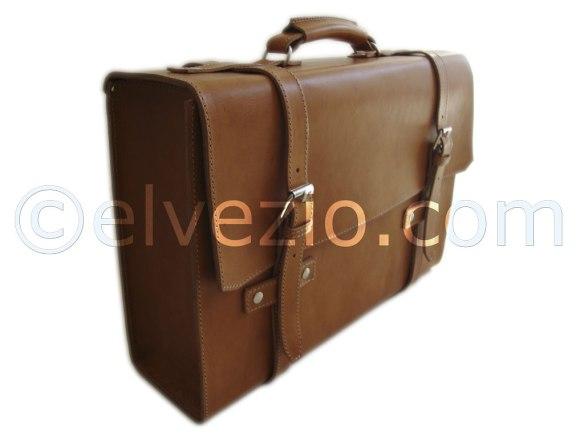 valigia Fiat 500 vera pelle lavorazione artigianale 03
