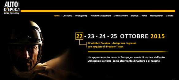 Mostra Scambio Padova 2015 Ottobre 22-25