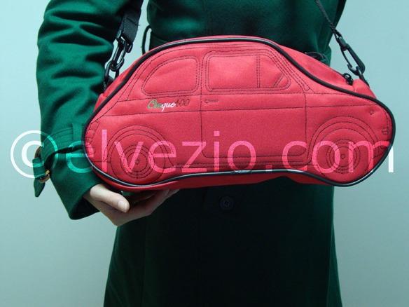 borsa rossa bordo nero fiat 500