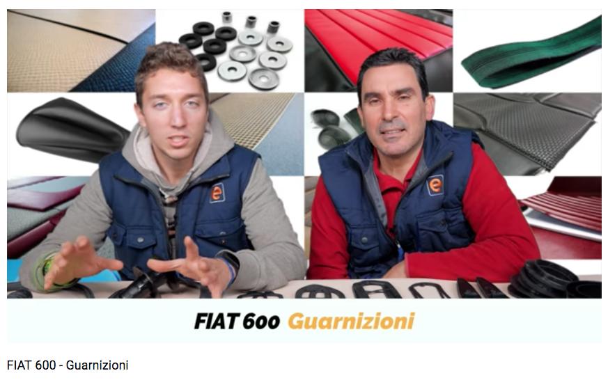 Fiat 600 Guarnizioni