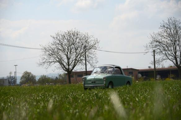 Autobianchi Bianchina Trasformabile in campagna
